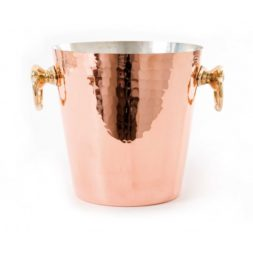 Mauviel Champagne Bucket Hammered Copper