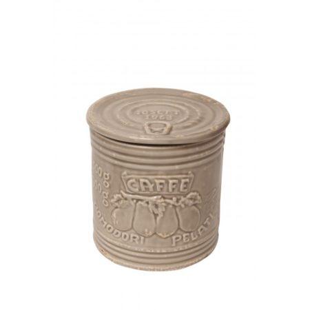 Mediterraneo Coffee Jar Argilla 12cm