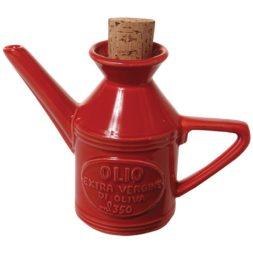 Osteria Olio Cruet Rosso 45Cl/16cm