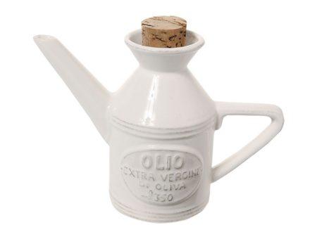 Osteria Olio Cruet Bianco 45Cl/16cm