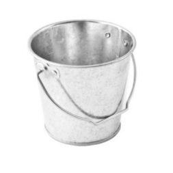 Galvanized Bucket 10.5 x 10.5cm