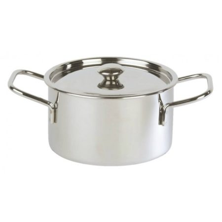 Mini Casserole With Lid Stainless Steel 10 x 6cm