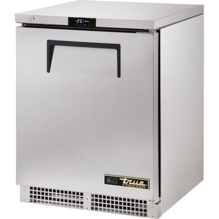 True 1 Door Solid Hinged Under counter Freezer