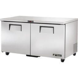 True 2 Door Solid Under counter Freezer