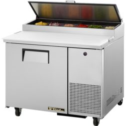 True 1 Door Pizza Prep Table Refrigerator TPP-44