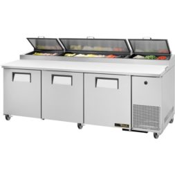 True 3 Door Pizza Prep Table TPP-93