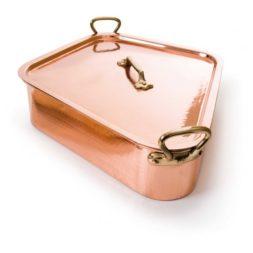 50 x 40cm Mauviel Turbot Kettle- Copper