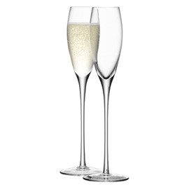 Champagne Flute & Saucers