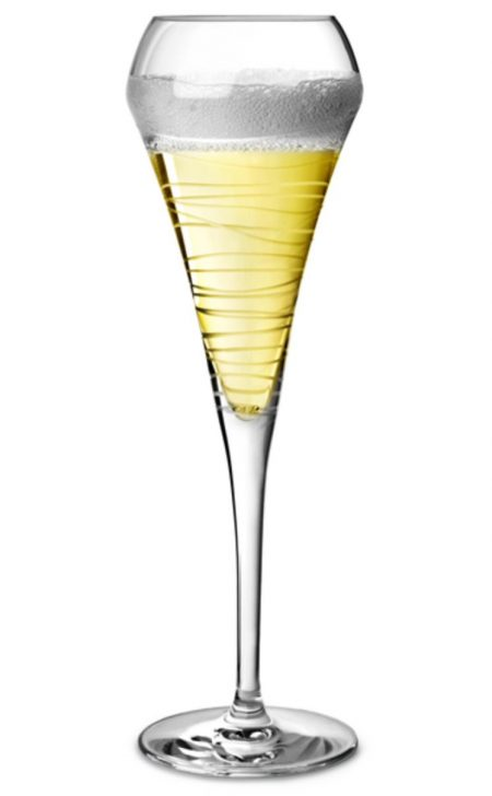 Open Up Arabesque Champagne Flute