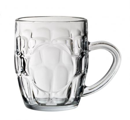 Britannia Dimple Beer Panelled 10oz Half Pint
