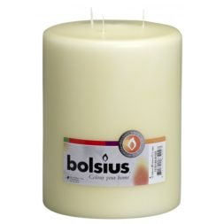 Mammoth Pillar Candle Ivory 200/150 mm