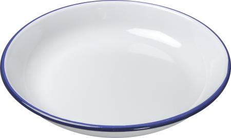Enamel Rice / Pasta Plate 18cm