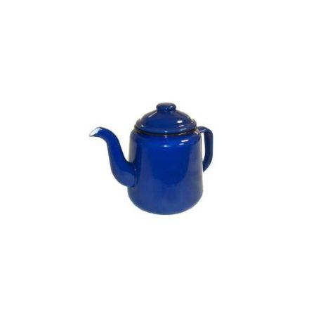12cm Blue Enamel Teapot