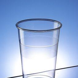 Disposable Half Pint Glasses