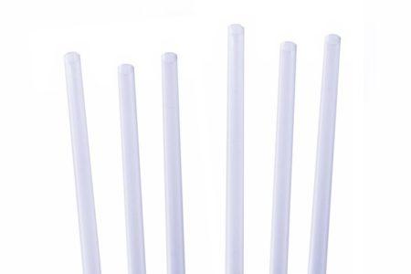 Clear Memphis Slim straw 5.5 Inch 1 x 1000