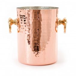 Mauviel Wine Bucket Hammered Copper