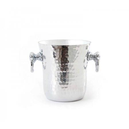 Mauviel Ice Bucket Hammered Aluminium