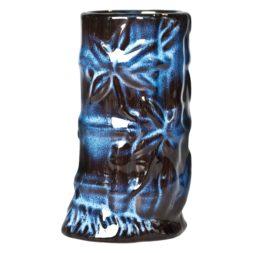 Tiki Mug Bamboo Blue 14 oz