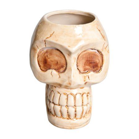Tiki Mug Skull 31oz Ceramic