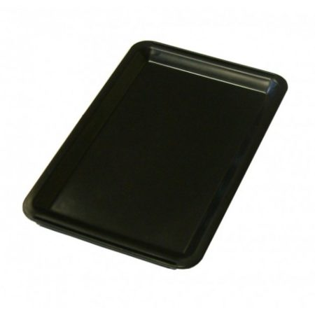 Black Plastic Tip Tray - Plain