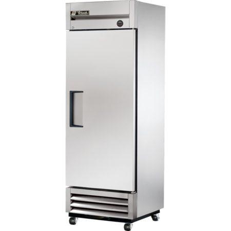 True Reach-In Solid Swing Door Freezer - T-19F-HC