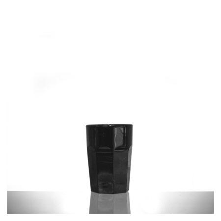 Black Shot Glass