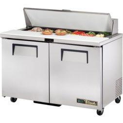 True 2 Door Salad Prep Counter 340ltr TSSU-48-12