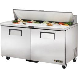 True 2 Door Salad Prep Counter 439ltr TSSU-60-16