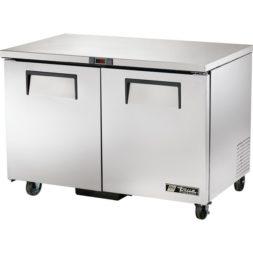 True 2 Door Undercounter Prep Freezer TUC-48F