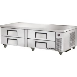 True 4 Drawer Refrigerated Chef Base TRCB-72