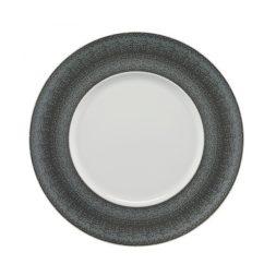 Enjoy Flat Plate Fancy Grey 32cm