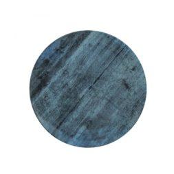 Porous Concrete Dark Plate Flat Coupe 28cm