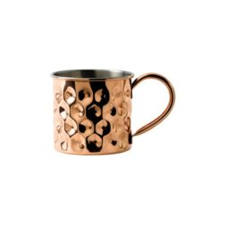 Copper Dented Mug Nickel Lining