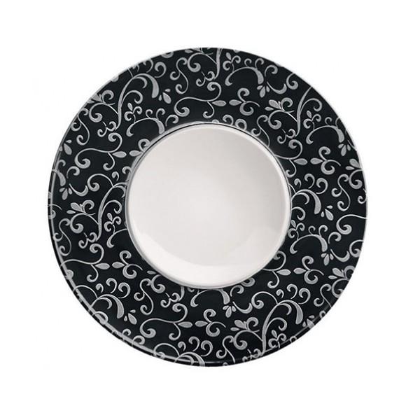 Flat Exquisite Plate Decorated Rim 34cm  sc 1 st  Cater Supplies Direct & Flat Exquisite Plate Decorated Rim 34cm   Cater Supplies Direct