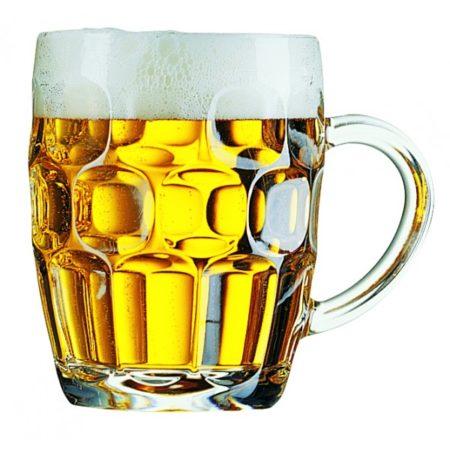 Britannia Dimpled Beer Glass 20oz 1 Pint