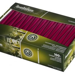 Tapered Candles Burgundy