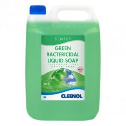 Senses Green Bactericidal Liquid Soap - Triclosan Free - 5Ltr