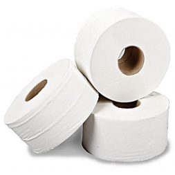 Mini Jumbo Toilet Rolls 2PLY