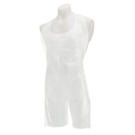 Disposable Aprons White (Flat Pack of 1000)