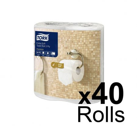 Toilet Roll 3 ply Lux 40
