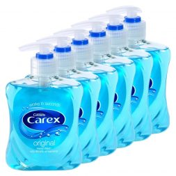 Cussons Carex Complete Original Antibacterial Hand Wash 250ml (Pack of 6)