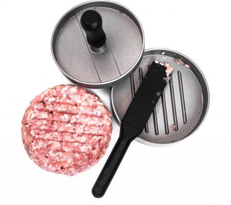 Aluminium Non-Stick Hamburger Press