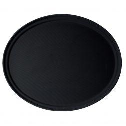 """Cambro 29"""" Black Camtread Non-Slip Tray"""