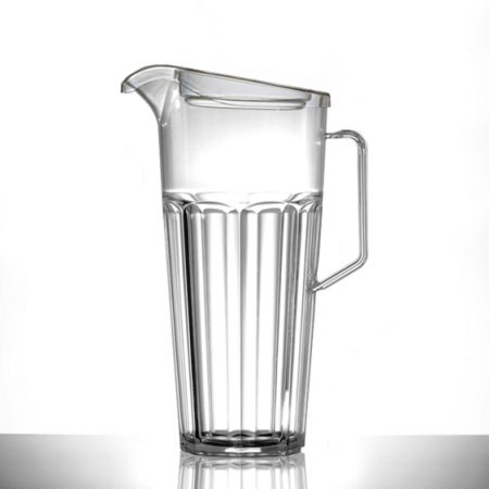 Elite 1.7 Litre Remedy Jug Clear NS With Lid