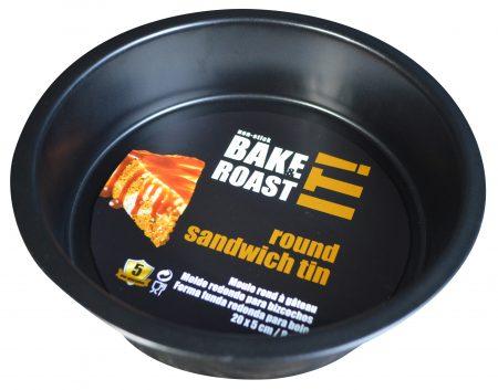 20cm Sandwich Tin Non-Stick