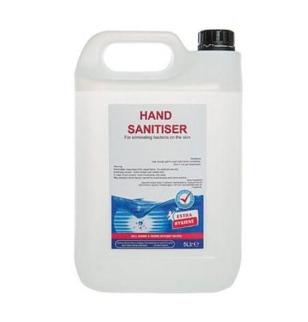 5 Litre Alcohol Hand Sanitiser Gel