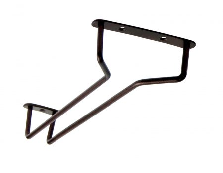 10″ Glass Hanger Rustic Finish