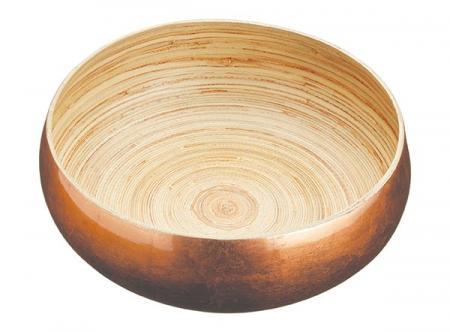 Artesà Medium 17cm Bamboo Copper Serving Bowl